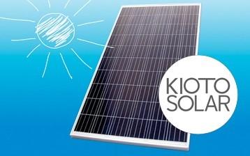 kioto solar napelem