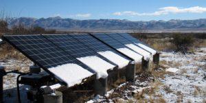 A napelemek elbírják a nagy havat?